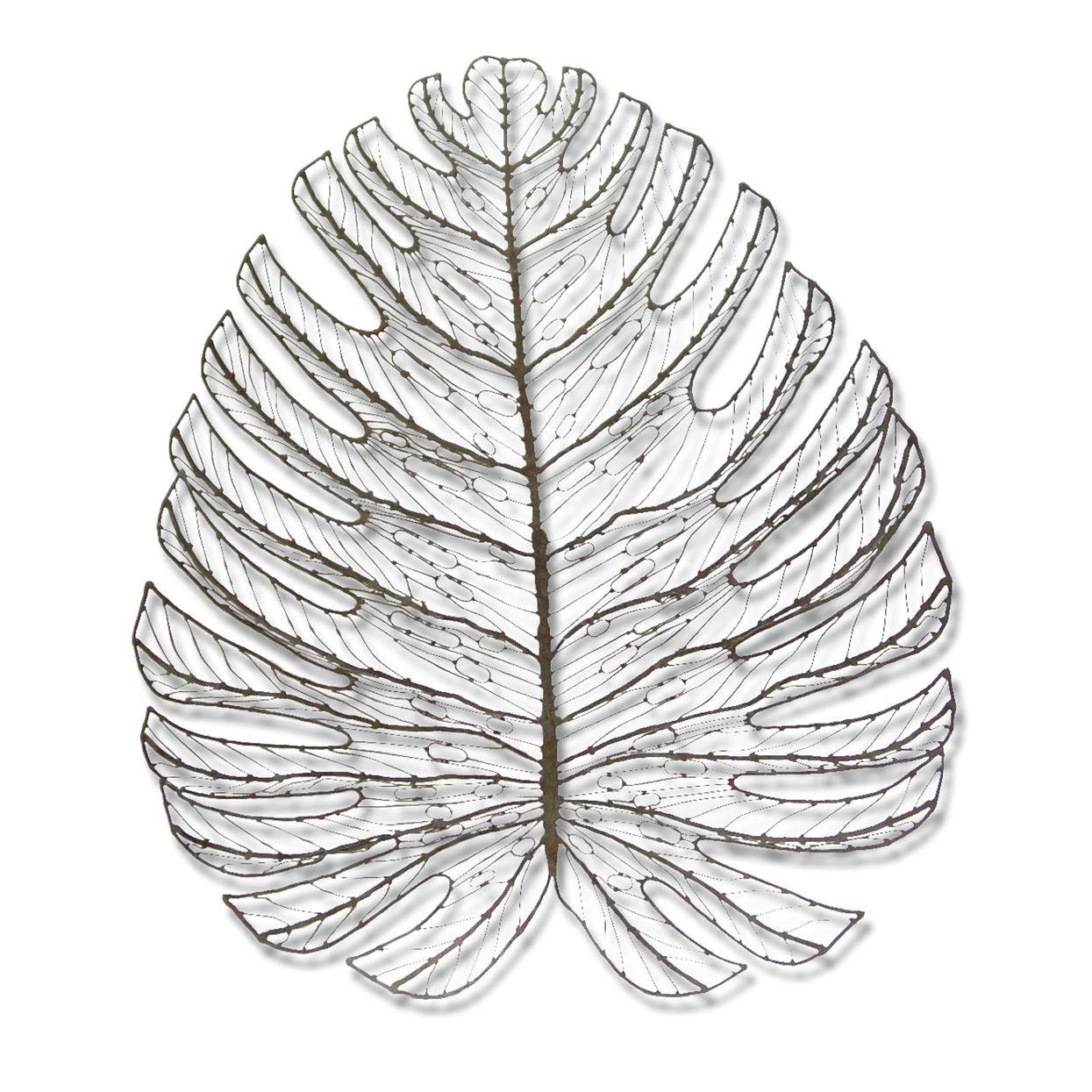 Delicieux Description. GIANT LEAF WALL DECOR