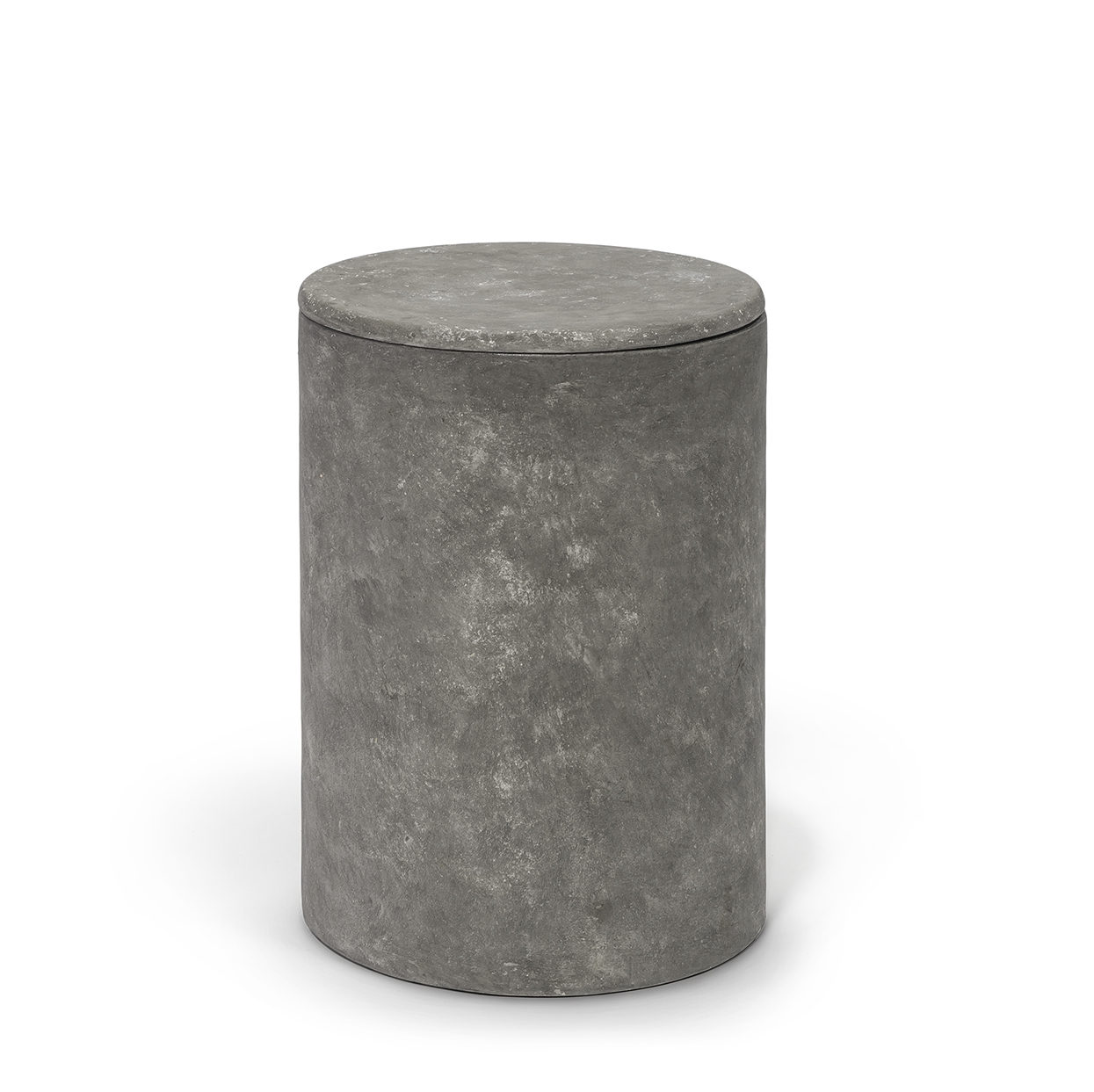 Beau Roan Drum Side Table