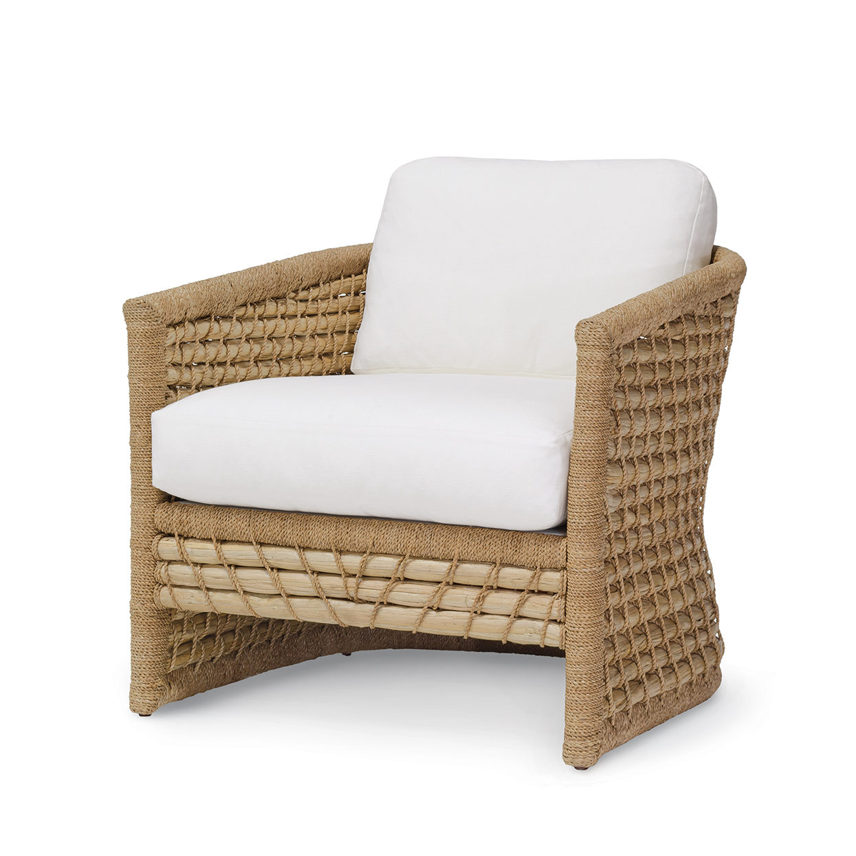 Capitola Lounge Chair  sc 1 st  PALECEK : palecek wicker chair - Cheerinfomania.Com