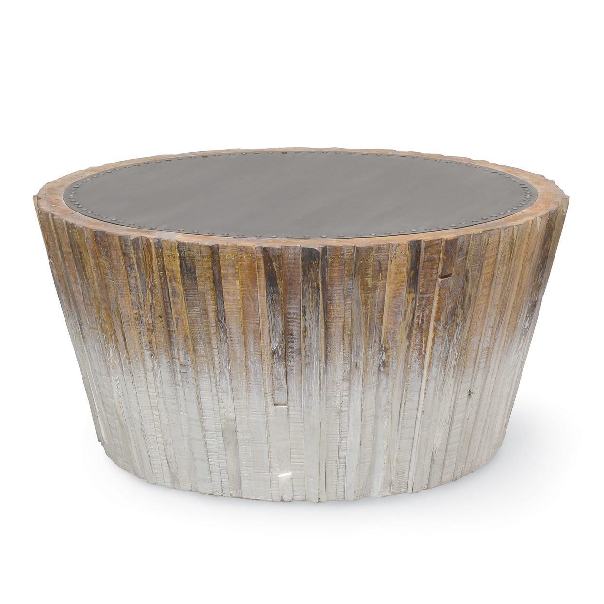 Palecek for White wood coffee table