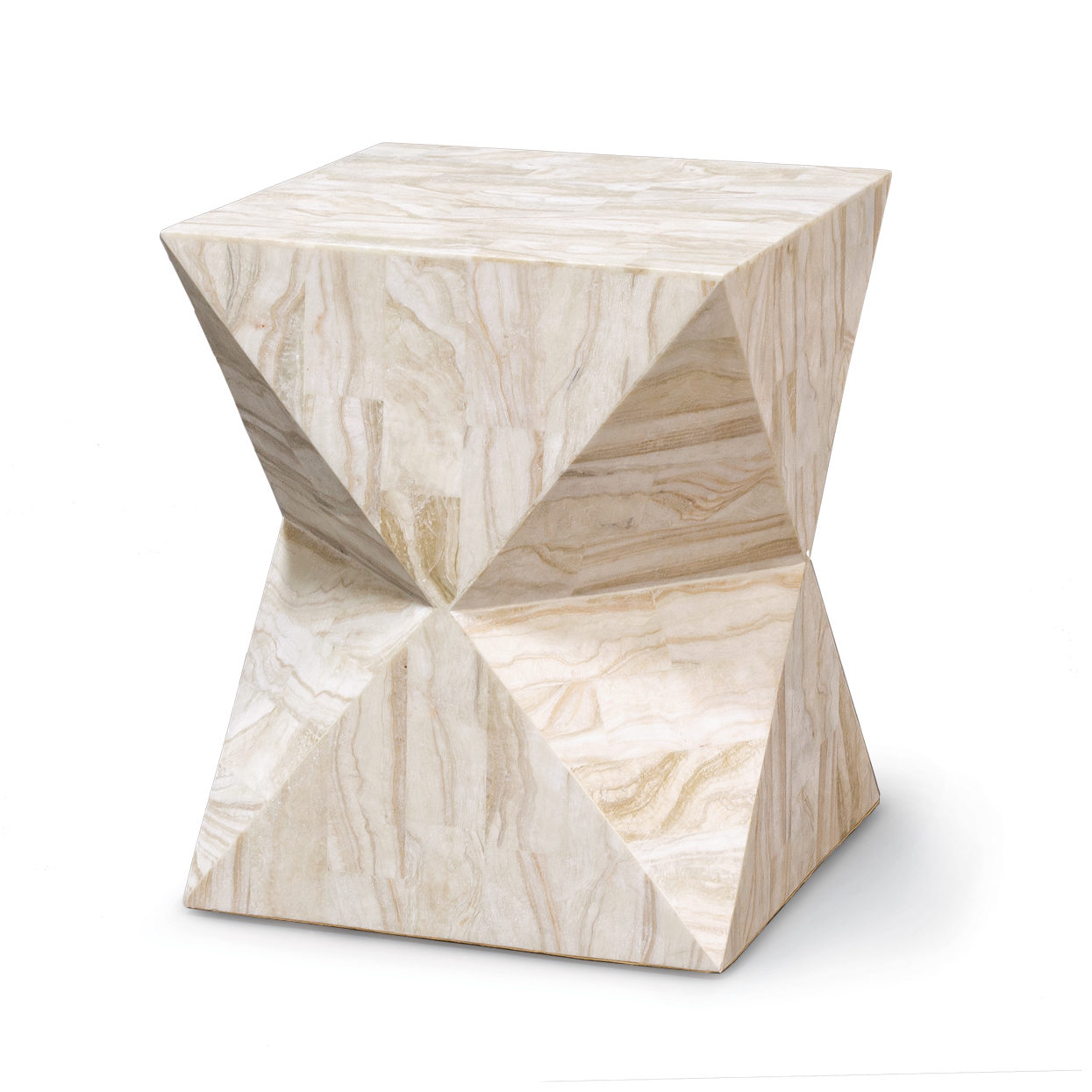 Attractive Description. TRITON STONE SIDE TABLE