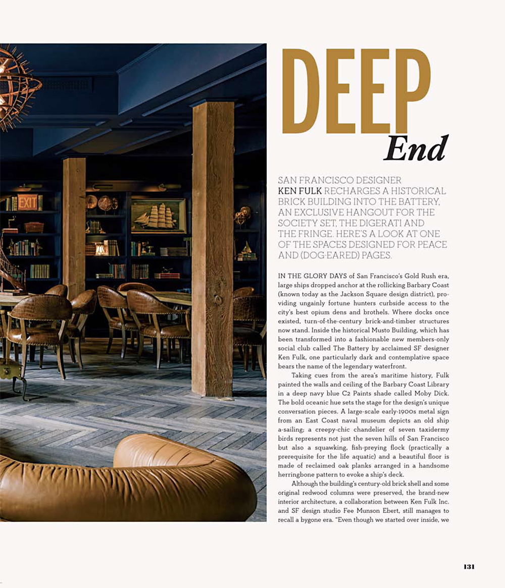 CA HOME + DESIGN (Winter 2013) | Palecek